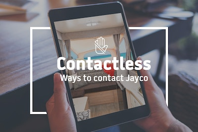 Contactless ways to contact Jayco