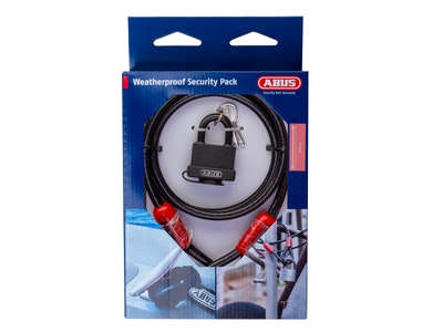 ABUS Combo Pack 70/45 Padlock and Cobra 10/140 Cable