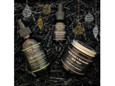 Christmas Collection of Tasmanian Herbal Skincare for oily and acne-prone skin