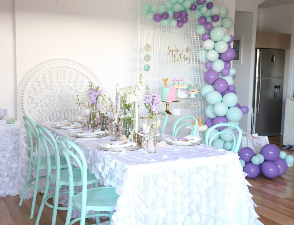 Ivy and Bleu Mermaid Party Styling Balloons