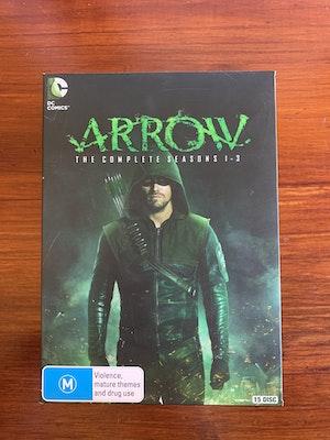 Arrow: Box Set Complete Seasons 1 - 3- Region 4 [AUS]
