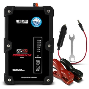 Schumacher DSR108 12V 450A Ultracapacitor Battery less Jump Starter
