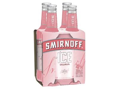 Smirnoff Ice Guava Bottle 300mL 4 Pack