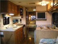 Interior Big Wheels US style Motorhome