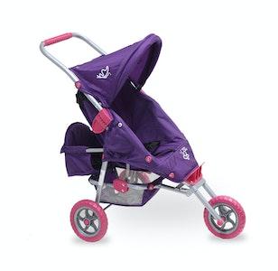 Mini Marathon with Toddler Seat - Purple