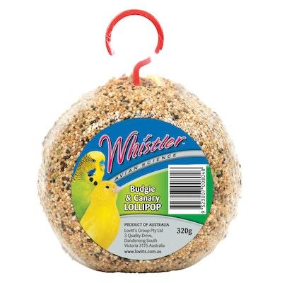 Lovitts Whistler Budgie & Canary Lollipop Bird Snack 6 x 320g