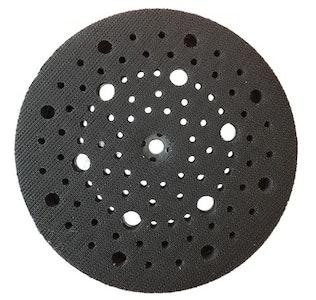 "Smirdex 6"" Multi-Hole Back Up Pad 97 Hole Velcro"