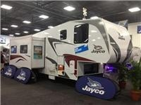 Jayco puts Captains first in under $90,000 civilised 5th wheeler at Adelaide Caravan and Camping Show