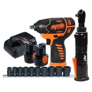 SP82144 Wrench Combo Kit Cordless 12v Mechanics 2 Pc 2.0Ah Max Li-Ion SP82144