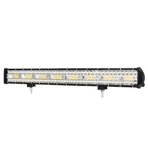 LIGHTFOX 23inch CREE LED Light Bar Spot Flood Driving Lamp Offroad 4WD SUV Truck