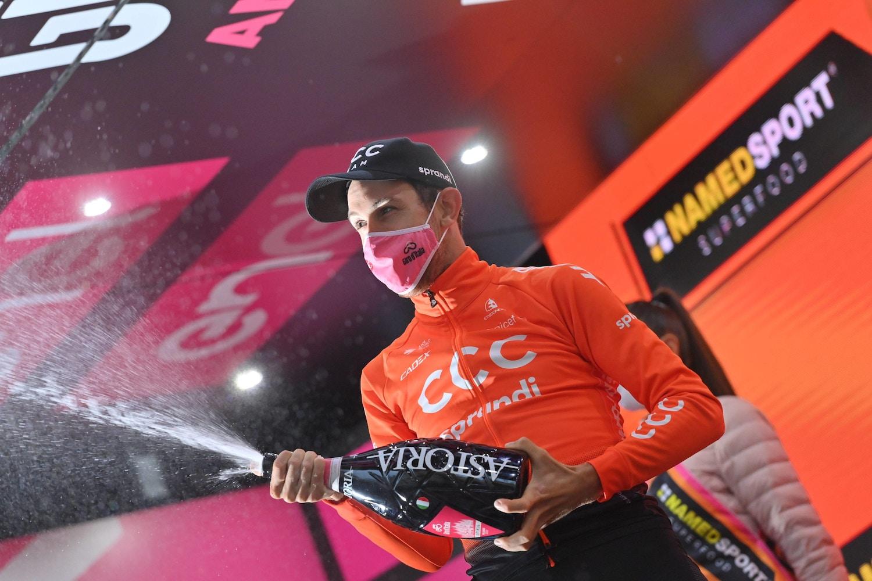 Josef Černý fue el Campeón Solitario de una Etapa Recortada - Giro d'Italia Etapa 19