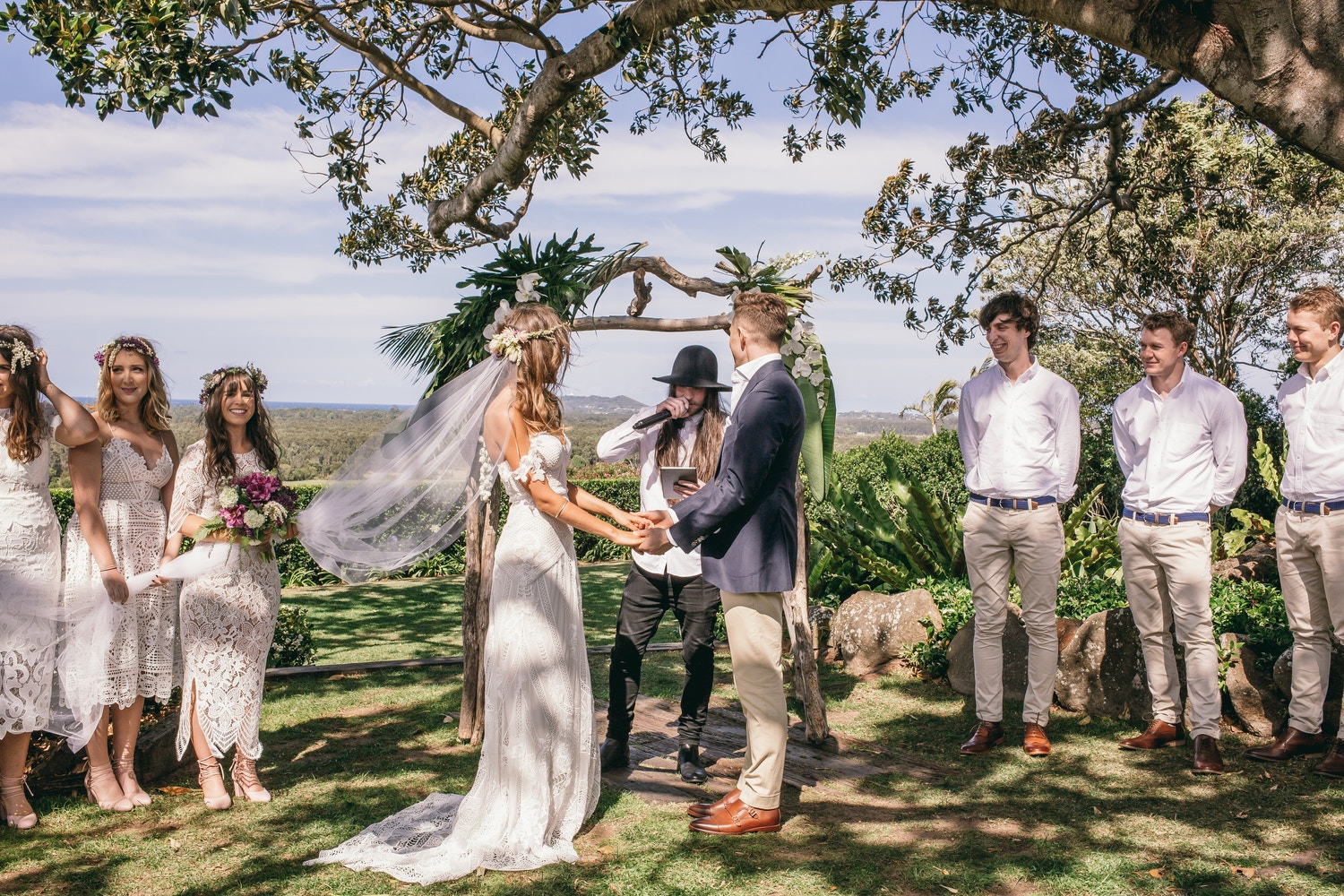 ALEX & NICK'S BOHO INSPIRED WEDDING