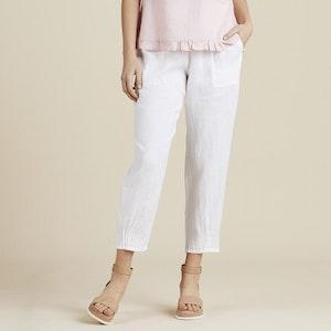 Gordon Smith Jersey Waist Pant - white