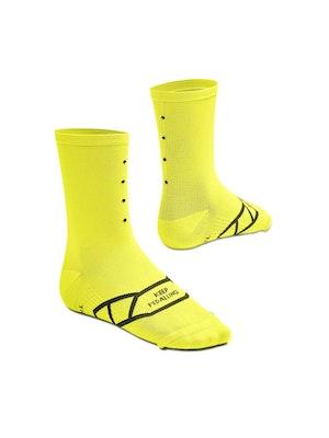 Pedla Lightweight / Neon Yellow Socks