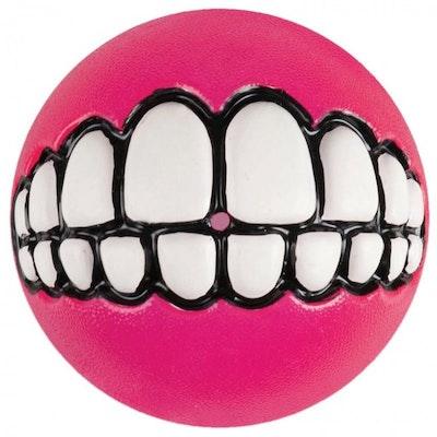 Rogz Ball Grinz Pink