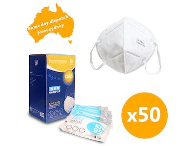 WH Safe *Wholesale* KN95 Dust Face Mask - 50 Units