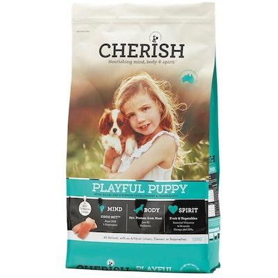 CHERISH Playful Puppy Brain Development & Trainability Dry Dog Food - 3 Sizes