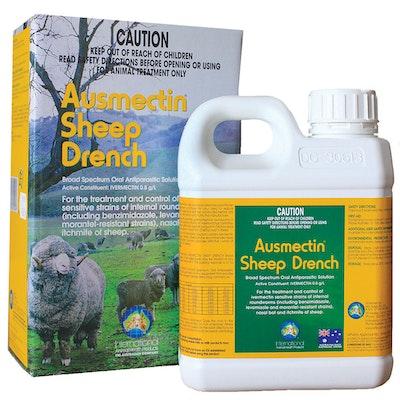 International Animal Health Ausmectin Sheep Drench Oral Solution - 2 Sizes