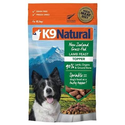 K9 Natural Grain Free Lamb Dry Dog Food 142G