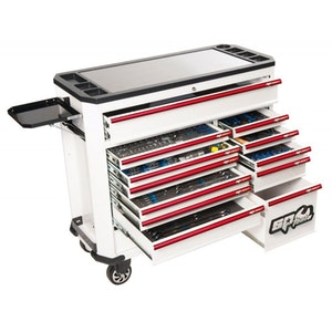 Tool Kit 316 Piece Concept Series Roller Cabinet WHITE SP50760CE