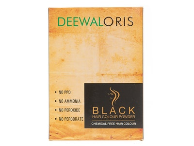 DeewalOris 100% Chemical Free Plant-extracted Hair Colour (Black)