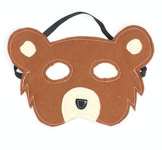 Wool Felt Bear Masks