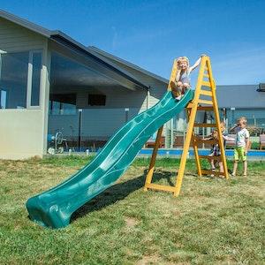 Lifespan Kids Jumbo 3m Climb & Slide in Green