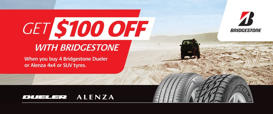 Bridgestone Cash Back Promotion
