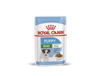 Royal Canin Health Nutrition Puppy Mini Gravy Salsa 12 x 85g