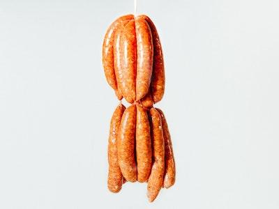 Pork, fennel & fermented chilli sausages, 4PC