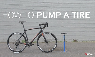 How to Pump Up a Bike Tire