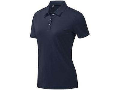 Adidas Tournament SS Polo - Women's Collegiate Navy