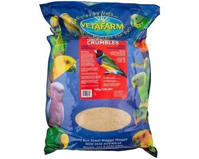 Vetafarm Finch and Budgie Crumbles Pet Bird Canary Budgerigar - 3 Sizes