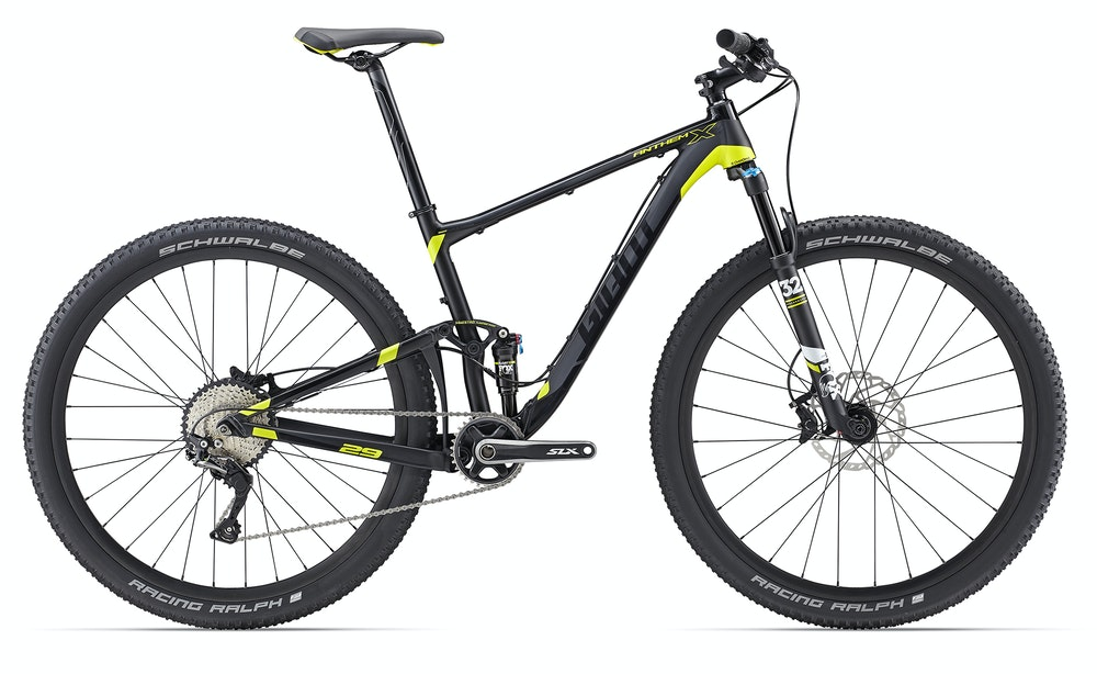 Giant Anthem X 29er Black BikeExchange 2017