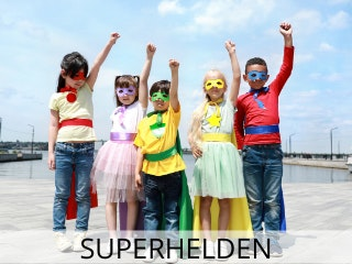superhelden-motto-party