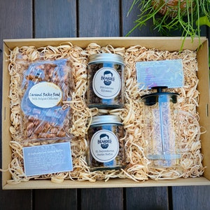 Lockdown survival gift box