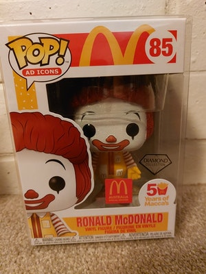 Diamond Glitter Ronald McDonald