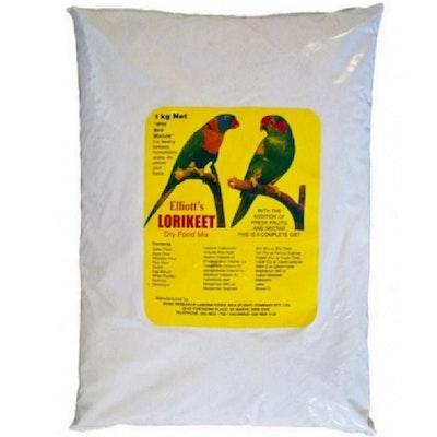 Inca Elliott Lorikeet Dry Food Mix Wild Bird Mixture For Feeding 1kg