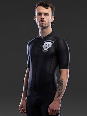 Hunter Bros Cycling Panther Crest Short Sleeve Jersey