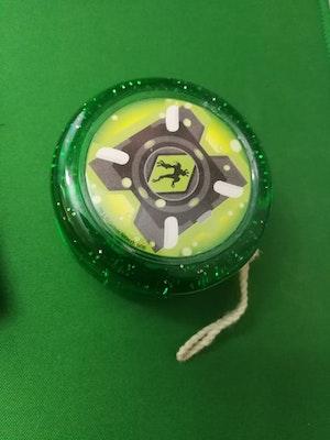 Ben 10 Hyper Slime Green Glitter Yo-Yo
