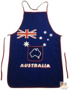Boutique Medical AUSTRALIA FLAG APRON Australia Day BBQ Aussie Party Costume Oven Chef Souvenir