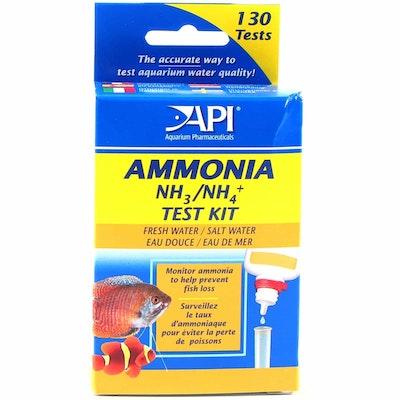 API Ammonia Test Kit  Fresh/Saltwater