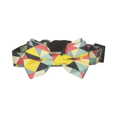 Hamish McBeth Bow Tie Dog Collar - Multi