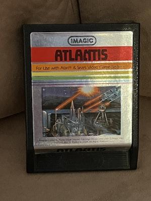 Atari 2600 Atlantis Cart
