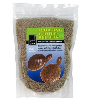 URS Nutritious Floating Turtle Food Pellets 300g
