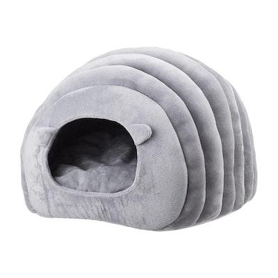 Pidan Sheep Shape Pet Cave Bed -  Grey