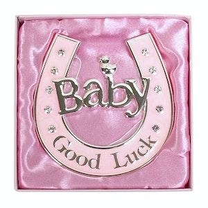 Dakota Baby Horeshoe Pink