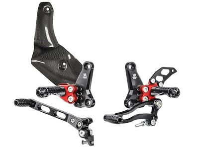 Bonamici Racing Rearsets To Suit Ducati Streetfighter 2009 - 2015