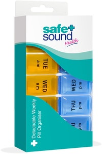 Safe + Sound Detachable Weekly Pill Organiser