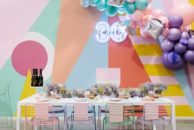 A CANDY-COLOURED 30TH BIRTHDAY PARTY